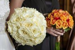 Bruids boeket Royalty-vrije Stock Foto
