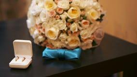 Bruids boeket stock videobeelden
