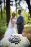 Bruids boeket Stock Afbeelding