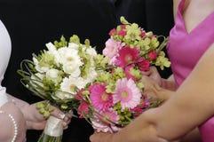 Bruids boeketten stock afbeeldingen