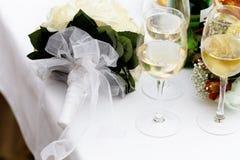 Bruids bouguet Royalty-vrije Stock Afbeelding