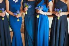 Bruids huwelijksbloemen royalty-vrije stock foto