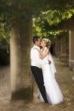Bruids Paar Royalty-vrije Stock Foto