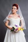 Bruids portret Stock Fotografie