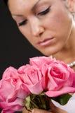 Bruids Portret Royalty-vrije Stock Afbeeldingen