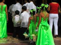 Bruids reeks. Stock Fotografie