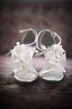 Bruids Schoenen stock fotografie