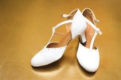 Bruids Schoenen Royalty-vrije Stock Afbeeldingen