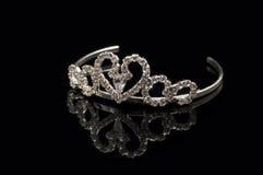 Bruids tiara royalty-vrije stock afbeelding