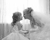 Bruidsmeisje Stock Foto's