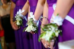 bruidsmeisjes Stock Foto's