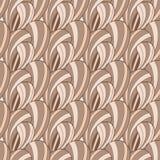 Bruin abstract naadloos patroon vector illustratie