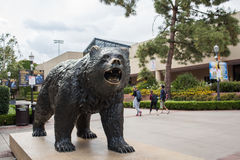 Bruin Bear. Los Angeles, CA: May 7, 2017: UCLA Bruin Bear on the University of California, Los Angeles, campus. For fiscal year 2016, UCLA has a budget of $6.7 Stock Photo
