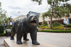 Bruin Bear. Los Angeles, CA: May 7, 2017: UCLA Bruin Bear on the University of California, Los Angeles, campus. For fiscal year 2016, UCLA has a budget of $6.7 Royalty Free Stock Photos