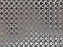 Bruin Blauw Behang Irridescent Stock Foto's