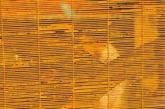Bruin blind Kleurenhout royalty-vrije stock foto's