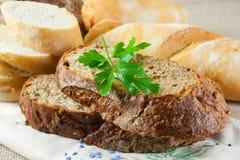 Bruin brood Stock Afbeelding