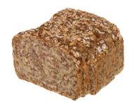 Bruin brood met zaden stock fotografie