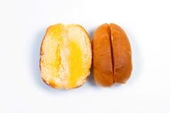 Bruin broodje Royalty-vrije Stock Foto's