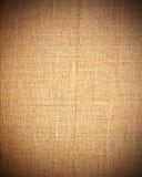 Bruin canvas als uitstekende textuur of achtergrond vector illustratie