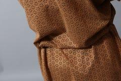 Bruin doorschijnend overhemd Stock Foto's