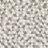 Bruin driehoeks vectorpatroon De koffie kleurt geometrische aardachtergrond Royalty-vrije Stock Afbeeldingen