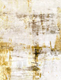 Bruin en Beige Abstract Art Painting royalty-vrije stock foto's