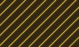 Bruin en geel lijnontwerp Stock Illustratie