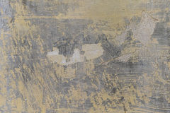 Bruin en grijs gebarsten pleisterpatroon Royalty-vrije Stock Afbeelding