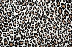 Bruin en zwart luipaardpatroon Stock Foto
