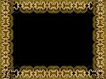 Bruin frame stock illustratie