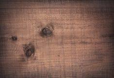 Bruin gekrast houten knipsel, hakbord Houten Textuur stock fotografie
