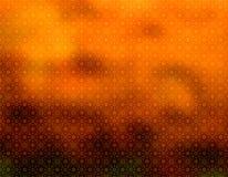 Bruin Geometrisch behang Als achtergrond Stock Afbeelding