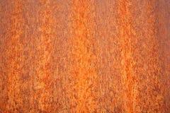 Bruin Geroest Metaal als achtergrond stock fotografie