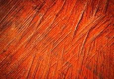 Bruin geschilderd geschaafd hout Royalty-vrije Stock Afbeeldingen