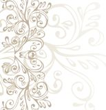 Bruin, grijs en wit ornament Royalty-vrije Stock Fotografie