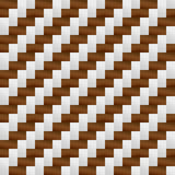 Bruin grijs weefselpatroon Royalty-vrije Stock Foto