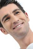 Bruin-haired mens royalty-vrije stock fotografie