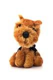 Bruin hondstuk speelgoed royalty-vrije stock afbeelding