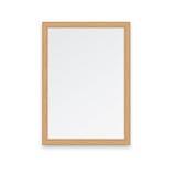 Bruin houten frame Royalty-vrije Stock Fotografie
