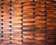 Bruin houten rooster Sluit, decoratie stock foto