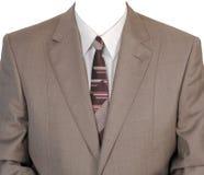 Bruin man jasje. royalty-vrije stock foto's
