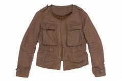 Bruin mannelijk jasje stock foto's