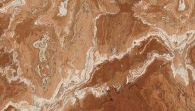 Bruin Marmeren Steenpatroon Stock Fotografie