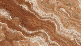 Bruin Marmeren Steenpatroon Stock Foto
