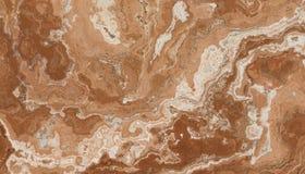 Bruin Marmeren Steenpatroon Royalty-vrije Stock Fotografie