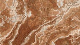 Bruin Marmeren Steenpatroon Royalty-vrije Stock Afbeeldingen