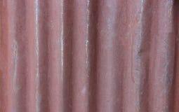 Bruin metaalblad Royalty-vrije Stock Foto