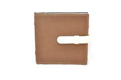 Bruin notaboek Royalty-vrije Stock Afbeeldingen