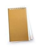 Bruin notitieboekje Royalty-vrije Stock Afbeelding